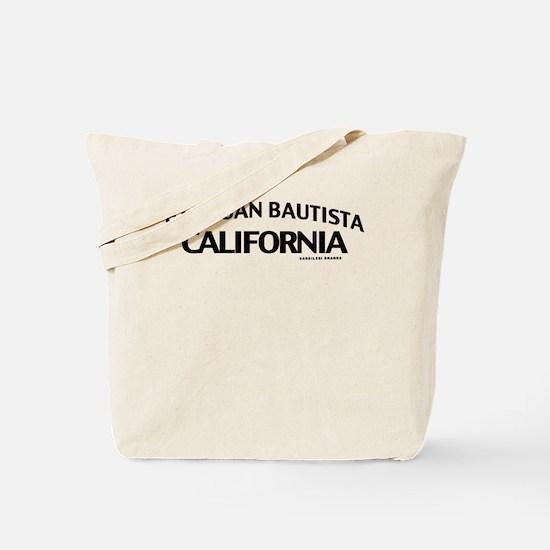 San Juan Bautista Tote Bag