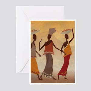 African Women Greeting Cards (Pk of 20)