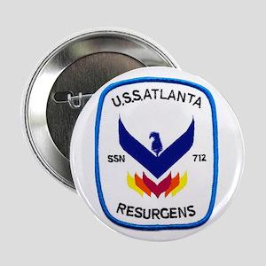 USS Atlanta SSN 712 Button