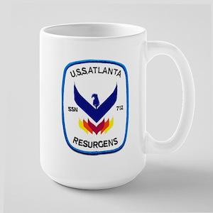 USS Atlanta SSN 712 Large Mug