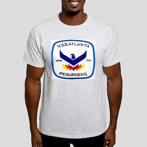 USS Atlanta SSN 712 Light T-Shirt