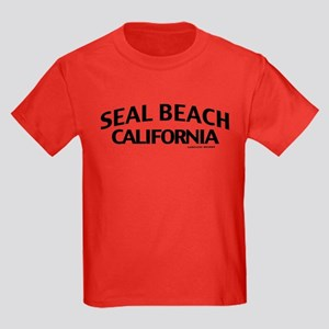 Seal Beach Kids Dark T-Shirt