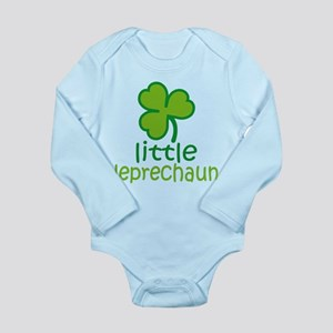 Little Leprechaun Long Sleeve Infant Bodysuit