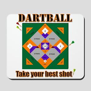 Dartball Board Mousepad