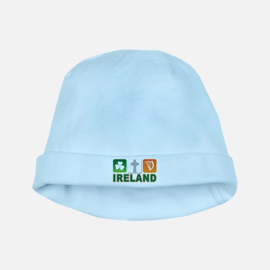 Irish pride baby hat