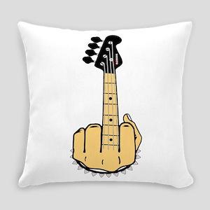 FU bass Everyday Pillow