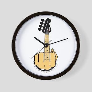 FU bass Wall Clock