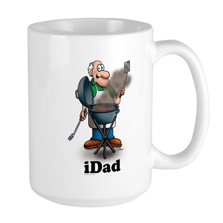Grill Dad Large Mug