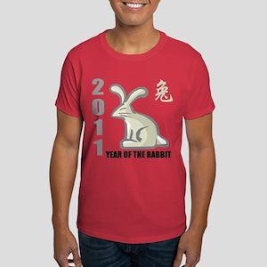 2011 Year of The Rabbit Dark T-Shirt