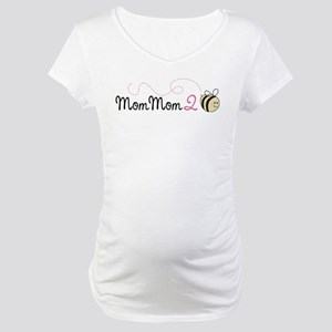 MomMom to Bee Maternity T-Shirt