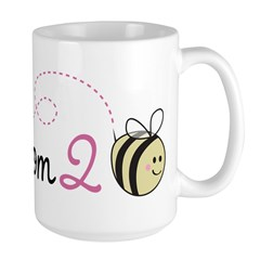 MomMom to Bee Large Mug