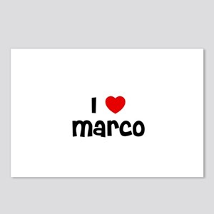 I * Marco Postcards (Package of 8)