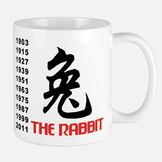 Chinese Symbol Year of The Rabbit Mug
