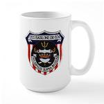USS BASILONE Large Mug