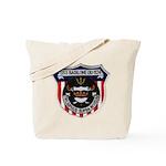 USS BASILONE Tote Bag