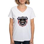 USS BASILONE Women's V-Neck T-Shirt