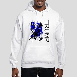 Splash of Brass Trumpet Hooded Sweatshirt