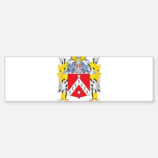 Telford Family Crest - Coat of Arms Bumper Bumper Bumper Sticker