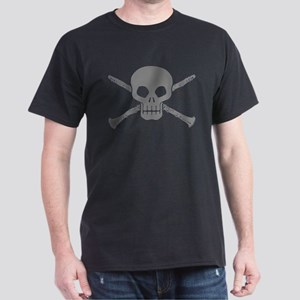 Clarinet Skull Dark T-Shirt