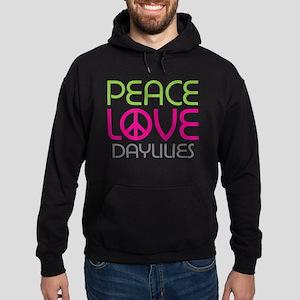 Peace Love Daylilies Hoodie (dark)
