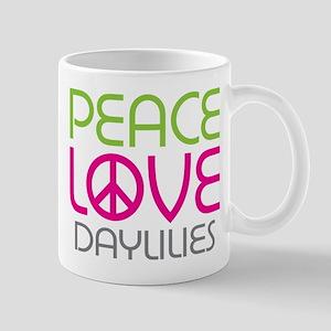Peace Love Daylilies Mug