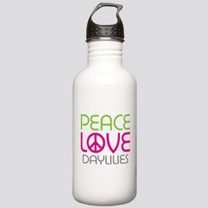 Peace Love Daylilies Stainless Water Bottle 1.0L