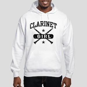 Clarinet Girl Hooded Sweatshirt