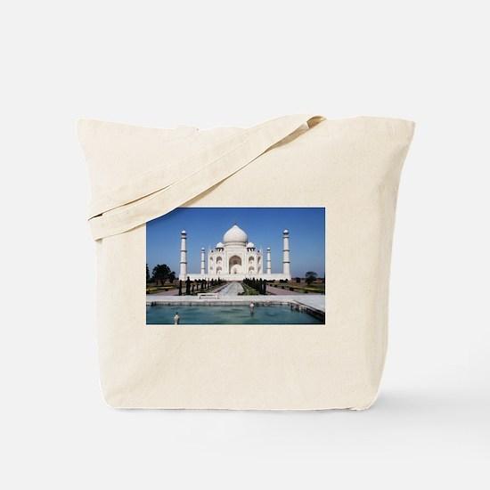 Taj Mahal India Tote Bag