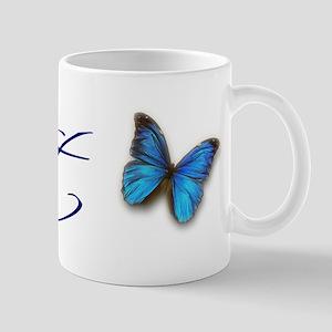 Soft Blue Morpho Mug