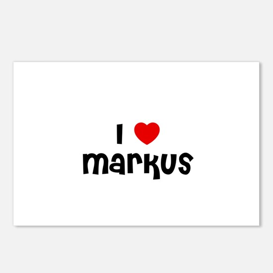 I * Markus Postcards (Package of 8)