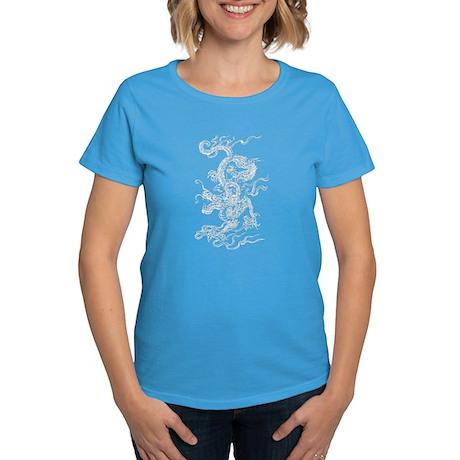 White Dragon Women's Dark T-Shirt