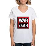 Warchild UK Charity Women's V-Neck T-Shirt
