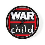 Warchild UK Charity Wall Clock