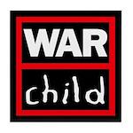 Warchild UK Charity Tile Coaster