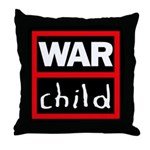 Warchild UK Charity Throw Pillow