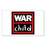 Warchild UK Charity Sticker (Rectangle)