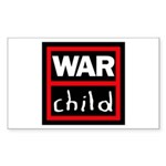 Warchild UK Charity Sticker (Rectangle 50 pk)