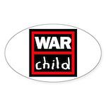 Warchild UK Charity Sticker (Oval 50 pk)