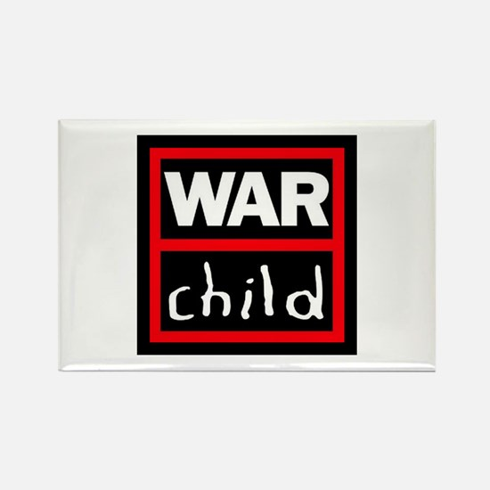 Warchild UK Charity Rectangle Magnet