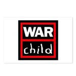 Warchild UK Charity Postcards (Package of 8)