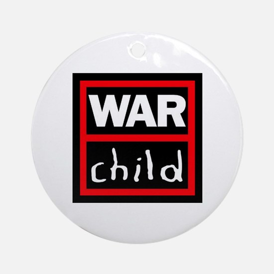 Warchild UK Charity Ornament (Round)