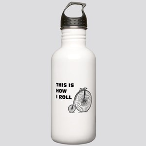 This is how I ROLL Stainless Water Bottle 1.0L