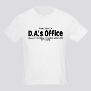'D.A.'s Office' Kids Light T-Shirt