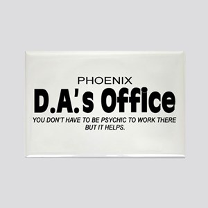 'D.A.'s Office' Rectangle Magnet