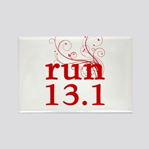 run 13.1 Rectangle Magnet