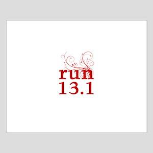 run 13.1 Small Poster