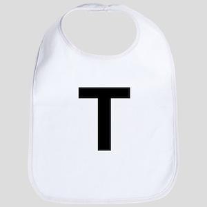 T Helvetica Alphabet Bib