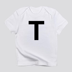T Helvetica Alphabet Infant T-Shirt