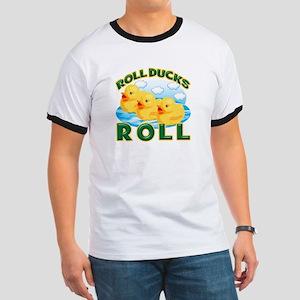 Roll Ducks Roll Ringer T