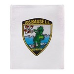 USS BAUSELL Throw Blanket